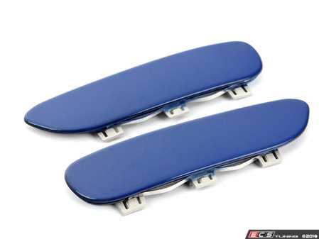 ES#3970493 - e46m3paintreflsb - E46 M3 Painted Reflectors - Laguna Seca Blue  - Bavarian Autosport -