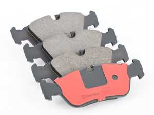 ES#3674666 - 34116761242 - Front Brake Pad set - Quality replacement brake pads from an original equipment supplier - Brembo - BMW
