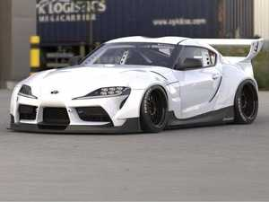 ES#4027468 - 66910400 - Pandem RB Complete Widebody Kit - Transform the look of your A90 Supra with this exquisite widebody kit from Pandem. Includes the full kit in FRP plus rear spoiler. - Greddy - BMW