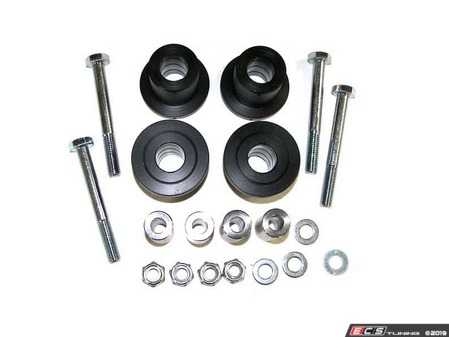 ES#4028117 - 034-401-2002-SM - Control Arm Bushings - One kit provides enough parts for one pair of control arms, purchase 2 sets for enough parts to supply all 4 control arms on car. - 034Motorsport - Audi