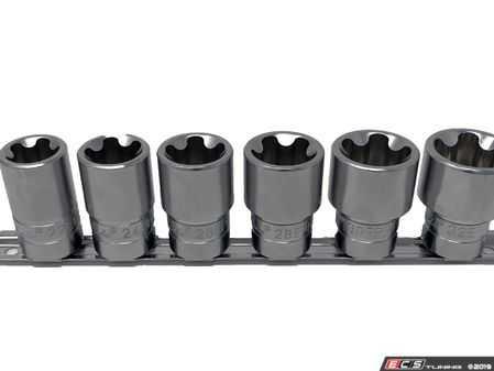 """ES#4028135 - CTA5066 - 6 Pc.5Pt.EPR Torx Plus Socket Set 1/2"""" Dr. - CTA Tools - Audi BMW Volkswagen Mercedes Benz MINI Porsche"""