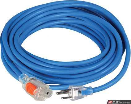 ES#4028189 - ATD8099 - 50 Ft. Indoor/Outdoor Locking Extension Cord - ATD Tools - Audi BMW Volkswagen Mercedes Benz MINI Porsche