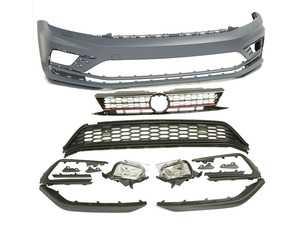 ES#4028224 - BP-VWJ65-GLI-RZ - Front Bumper Conversion - GLI Facelift - Includes honeycomb grilles, fog lights, and front lips - Bremmen Parts - Volkswagen