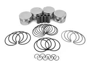 ES#3639944 - SC7514 - CP Forged Piston & Ring Set (Set Of 4) - 77.5mm (+0.5 Size) CR(9.5) - Performance pistons in plus size - Carillo - MINI