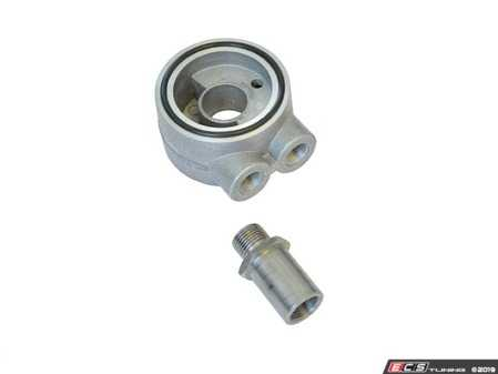 ES#4029445 - 034-110-Z003 - Thermostatic Sandwich Oil Filter Adapter - These oil filter adapters are designed to fit between the filter and the engine block. - 034Motorsport - Audi Volkswagen