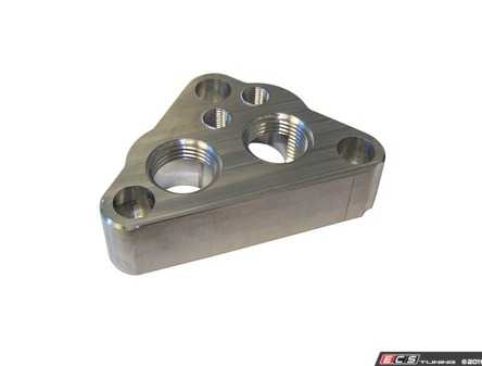 ES#4029464 - 034-110-Z000 - Oil Filter Housing Adapter - This oil filter housing adapter allows the use of an external oil cooler, and remotely mounted oil filter. - 034Motorsport - Volkswagen