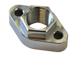 "ES#4029476 - 034-110-6001 - Block Side Billet Aluminum Drain Flange - Drain flange for Audi 1.8T oil pan drain back - 1/2"" NPT - 034Motorsport - Audi"