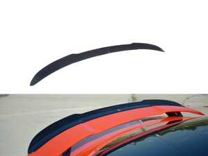 ES#4029565 - AU-TT-3-RS-CAP1C - Rear Trunk Spoiler Cap - Carbon Look - Add aggressive looks to your Audi with this quality ABS trunk spoiler - Maxton Design - Audi