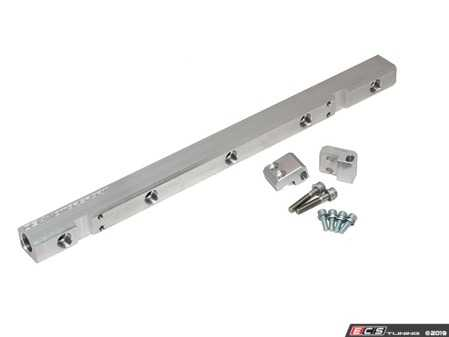 ES#4029646 - 034-106-70278AN - 034 Fuel Rail (-8AN) - CNC Machined to accept standard EFI type injector O-rings and 034EFI Logo CNC Milled on one side - 034Motorsport - Audi