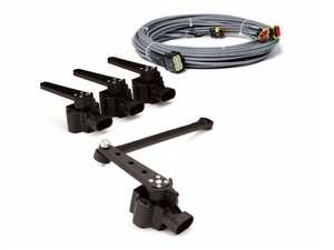 ES#4029713 - AA-E+HS4 - E+ Height (4-Corner)  - Upgrades e+ Connect to e-Level+ with addition of preset heights. Includes Height Sensors, Harnesses and Hardware. - AccuAir - Audi BMW Volkswagen Mercedes Benz MINI Porsche