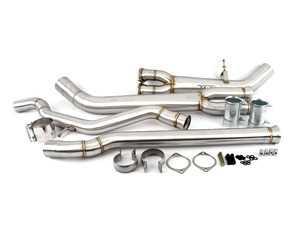 ES#3984881 - 10802025 - VRSF High Flow Single Mid-pipe Upgrade - Eliminate those restrictive OEM mid-pipes - VRSF - BMW