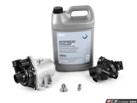 ES#4020057 - 11517632426KT11 - Water Pump And Thermostat Kit - Includes everything you need to replace your water pump and thermostat. Featuring VDO water pump and thermostat. - Assembled By ECS - BMW
