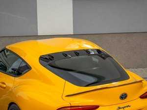 ES#4030460 - TO-SU-5-H1 - Rear Windshield Spoiler  - ABS plastic spoiler extension that will enhance the look of your vehicle in minutes! - Maxton Design - BMW