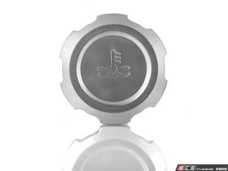 ES#3509689 - 022731ECS01-02 - Billet Coolant Reservoir Cap - Clear Anodized - Lose the plastic! - ECS - Audi