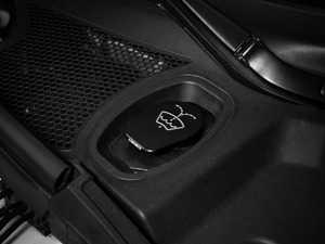 ES#3247518 - 022733ECS01-01 - Billet Washer Fluid Reservoir Cap - Black Anodized - Lose the plastic! - ECS - Audi Volkswagen