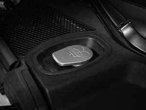 ES#3247519 - 022733ECS01-02 - Billet Washer Fluid Reservoir Cap - Brushed Finish - Clear Anodized - Lose the plastic! - ECS - Audi Volkswagen