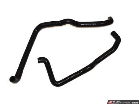 ES#4030576 - 034-102-3000 - Silicone Heater Hose Pair  - Allows plenty of room for most big turbo installs and brings heater hose lines way below the turbo area and back up to the motor to meet with heater hose hard lines. - 034Motorsport -