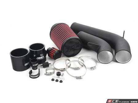 ES#2804333 - 000593ECS0102AKT - Luft-Technik Intake System - Wrinkle Black - Engineered for extreme performance and show quality looks! - ECS - Volkswagen