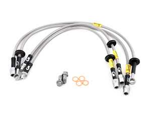 ES#3980144 - 31046 - G-Stop Stainless Steel Brake Line Kit - 37742-2006  - Front and rear set of DOT-compliant lines for an improved pedal feel - Goodridge - MINI