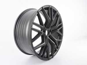 "ES#4030684 - 0ECS12-2sd - 20"" Tekniform Style 012 - Single Wheel - *Scratch And Dent* - *Please see description prior to ordering* 20x8.5, ET45, 5x112, 66.6CB - Matte Gunmetal - ECS - Audi Volkswagen"