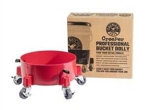 ES#4030735 - ACC1001R - Creeper Professional Bucket Dolly  - The Creeper Professional Bucket Dolly makes any job easier by giving your bucket wheels to follow you around your detail so your bucket is always at your side! - Chemical Guys - Audi BMW Volkswagen Mercedes Benz MINI Porsche