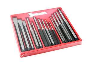 ES#3979365 - 029057SCH01A - Punch & Chisel Set - 16 Piece - A good punch and chisel set is a must have. - Schwaben - Audi BMW Volkswagen Mercedes Benz MINI Porsche