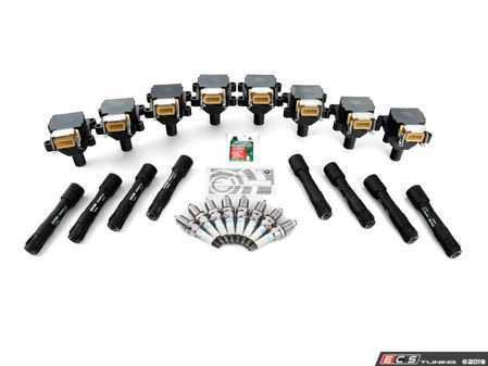 ES#3438152 - 12137599218kt4KT - Ignition Service Kit - Includes new spark plugs and coils - Assembled By ECS - BMW