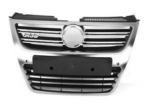 ES#3477993 - 3C0853651AB3Q7 - R36 Grille Assembly - Aluminum - R36 badge not included - Genuine European Volkswagen Audi - Volkswagen