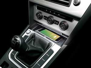 ES#4030965 - 241320-52-1 - Arteon Wireless Charging Dock - Add wireless charging to your car while maintaining a clean factory look - Inbay - Volkswagen