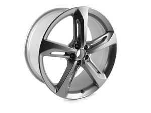 "ES#2684074 - 4G8601025AN - 21"" RS7 5-spoke wheel - priced each - 21""x9"" ET35 5x112 Silver - Genuine Volkswagen Audi - Audi"