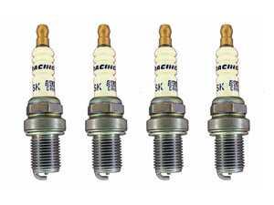 ES#4033197 - dr08sKT - Brisk Silver Racing DR08S Spark Plug - Set Of Four - Featuring silver fine wire center electrode - Superior ignition ability increases engine power! - Brisk - Audi Volkswagen MINI