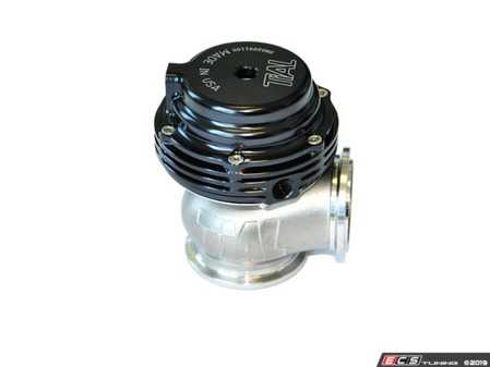 ES#4033239 - TIL-WGT-022BK-AL - Tial MVS External Wastegate - V-banded 38mm - Black  - Tial's new MV-S (V38) 38mm v-band external wastegate is the ultimate compact external wastegate solution - Tial - Audi Volkswagen