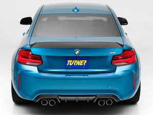 ES#4033225 - 028531TMS01 - High Kick Carbon Fiber Trunk Spoiler - Transform the rear end of your 2 series with this Beautiful Carbon Fiber High-Kick Spoiler! 