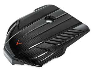 ES#4034835 - EVE-A90-CF-ENG - Carbon Fiber Engine Cover - Dress up your engine bay with a replacement carbon fiber cover from Eventuri. - Eventuri - BMW