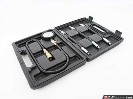 ES#3981068 - 06254SCH01A - Euro Compression Tester Kit - Built with 3 size hoses with 14mm end, 12mm end and 10mm end - Schwaben - Audi BMW Volkswagen Mercedes Benz MINI Porsche