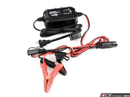 ES#4031177 - GENIUS5 - NOCO Genius 6/12 Volt 5 Amp Battery Charger - Meet the GENIUS5 - Similar to our G3500, just better. It's 34% smaller and delivers 65% more power. And it's simpler and easier to use than ever before. - NOCO - Audi BMW Volkswagen Mercedes Benz MINI Porsche