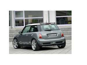 ES#3672290 - 10050135 - Hamann Roof Spoiler R50 R53 - Mounts to the factory roof spoil and adds a lifted wing - Hamann - MINI