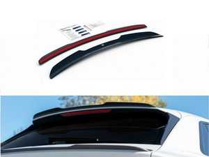 ES#4039554 - AU-Q8-1-SLINE-CC - Spoiler Extension V.1 - Carbon Look - ABS plastic spoiler extension that will enhance the look of your vehicle in minutes! - Maxton Design - Audi