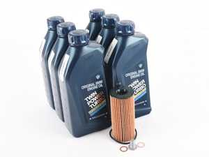 ES#4013687 - 11428575211-2KT - Genuine BMW Oil Change Kit / Inspection I - Everything needed for an oil service including Genuine BMW Twin Power Turbo oil. - Genuine BMW - BMW