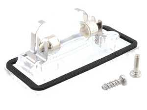 ES#4039654 - 8E0943022B - License Plate Light Assembly - Right - includes bulb and hardware. - Vemo - Audi