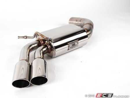 "ES#2162536 - FPIM-0481 - 3"" Stealth Rear Muffler With Dual Polished Tips - Free up some horsepower with a new rear muffler  - Billy Boat Performance -"