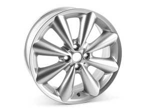 "ES#2101923 - 36116791945 - R121 MINI Conical Spoke Wheel 17"" (4x100) Silver - Priced Each - 17 x 7J ET:48 - Genuine MINI - MINI"