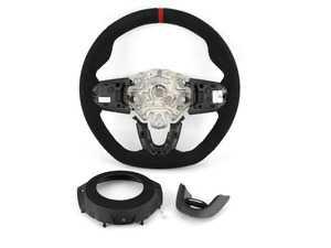 ES#4003668 - 32302364769 - JCW PRO Steering Wheel In Alcantara - Upgraded steering wheel with a JCW feel - Genuine MINI - MINI