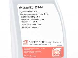 ES#4030712 - 001989200312 - Hydraulic Fluid - Priced Each - One (1) Liter Container - Febi - Mercedes Benz
