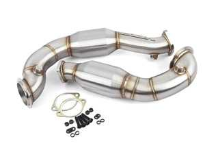VRSF 3 inch Stainless Steel Catted Downpipes
