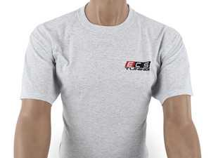 ES#4013738 - 6060712 - Gray ECS Short Sleeve T-Shirt - Medium - Featuring full color ECS Tuning logo on left chest and full back - ECS - Audi BMW Volkswagen Mercedes Benz MINI Porsche