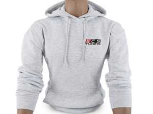 ES#4013751 - 6060733 - Ash ECS Pullover Hoodie - Large - Featuring full color ECS Tuning logo on left chest and full back - ECS - Audi BMW Volkswagen Mercedes Benz MINI Porsche