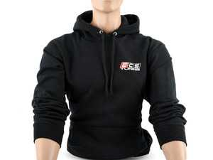 ES#4013745 - 6060723 - Black ECS Pullover Hoodie - Large - Featuring full color ECS Tuning logo on left chest and full back - ECS - Audi BMW Volkswagen Mercedes Benz MINI Porsche