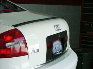 ES#252363 - LS-48-1 - Lip Spoiler - Add subtle styling cues with this ECS lip spoiler - ECS - Audi