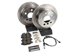 """ES#3990678 - KOE7750 - Autospecialty Brake Kit - Rear Pair 10.19"""" (259x10) - Stock replacement front brake kit with pads - Power Stop - MINI"""